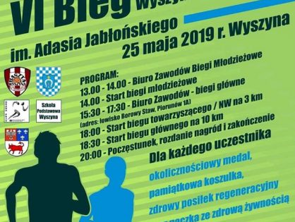 VI Bieg Wyszyńska Dziesiątka im. Adasia Jabłońskiego